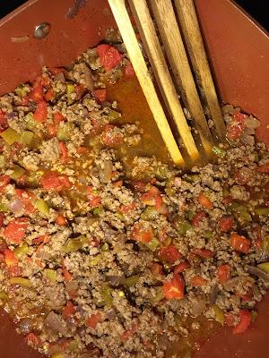 Beef Burrito Filling