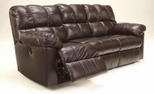 Kennard Chocolate Reclining Sofa