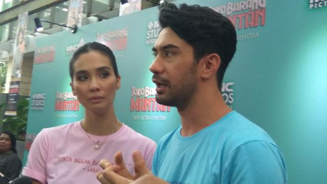Reza Rahadian dan Marsha Timothy, pemeran utama Toko Barang Mantan (dok.windhu)