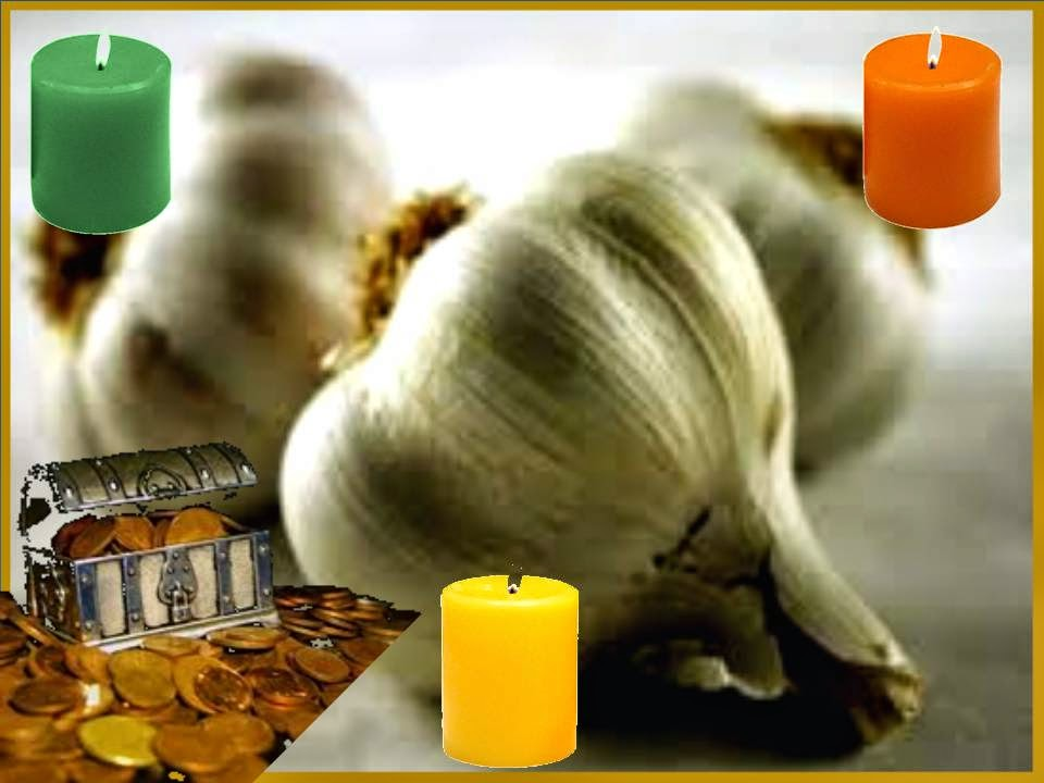 Oraciones milagrosas y poderosas ajo milagroso ritual y - Para atraer la suerte ...