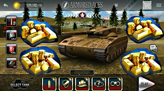 Armored Aces 3D tanks online truco