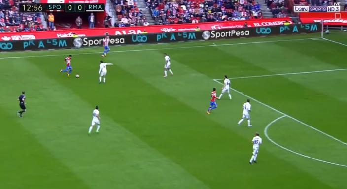 بالفيديو : ريال مدريد يفوز بصعوبة فى الوقت القاتل على  سبورتينغ خيخون ثلاثة اهداف مقابل هدفين
