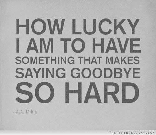 Its So Hard To Say Goodbye I Love Aba