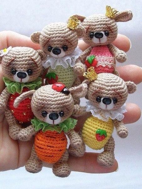 Bloglovin Amigurumi : Amiguumi Little Bear-Free Pattern Amigurumi Free ...