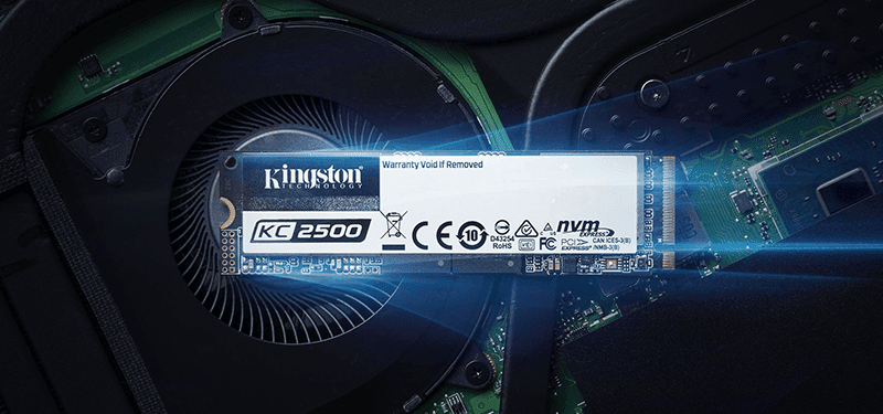 Kingston KC2500 next-gen NVMe PCIe SSD now official in PH!
