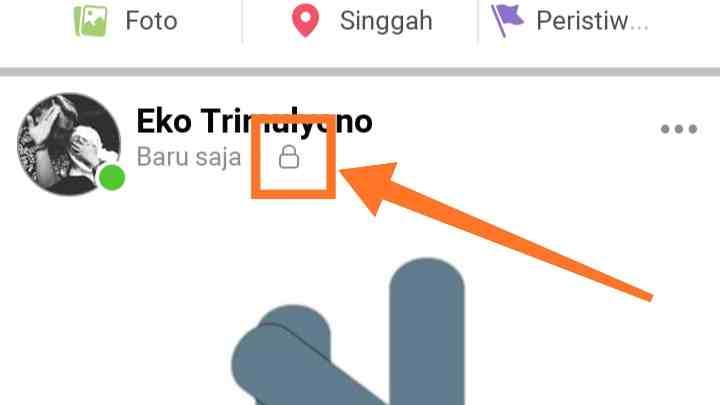 Cara Privasi profil Facebook