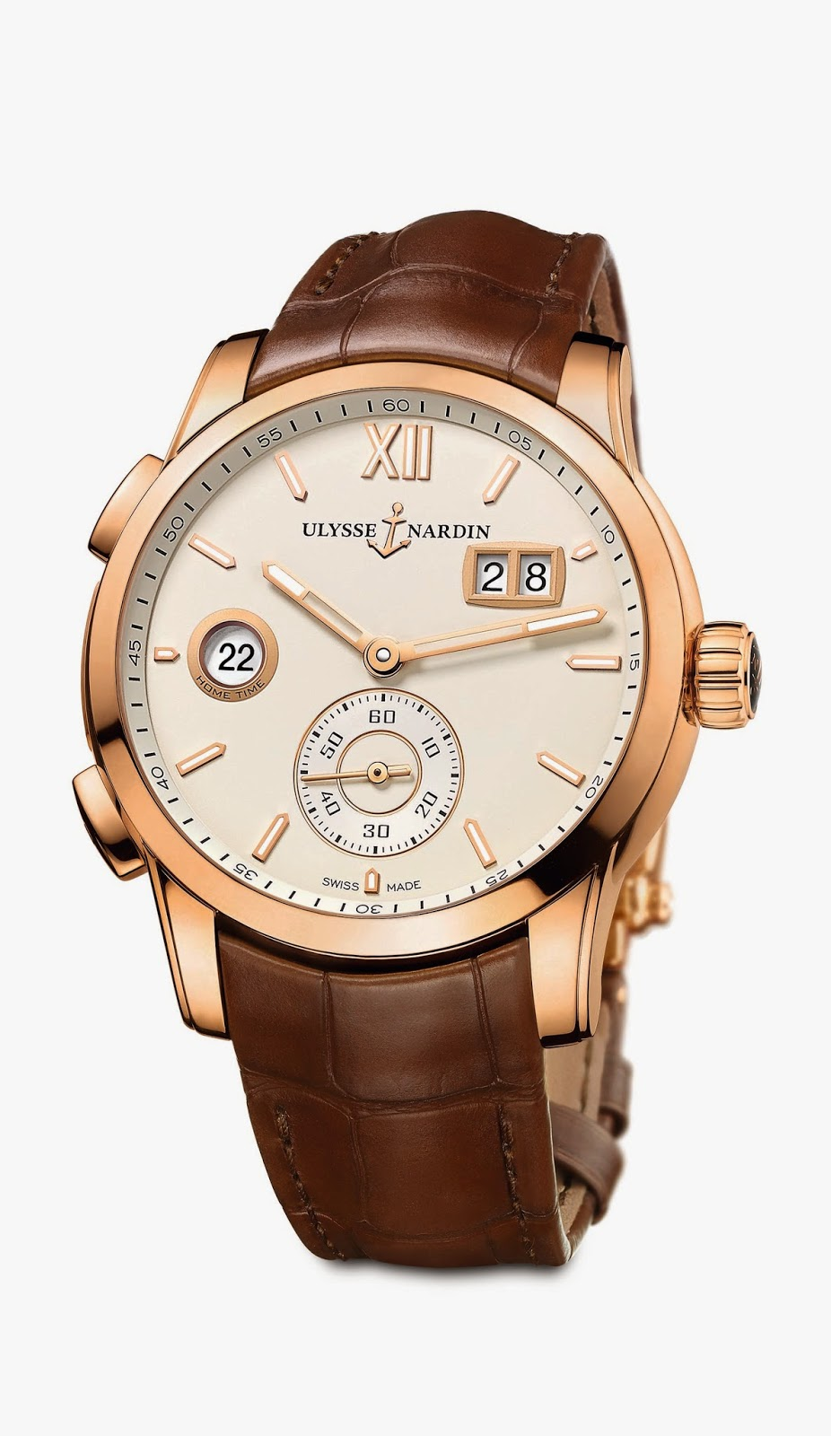 Ullysse Nardin Dual Time Manufacture5