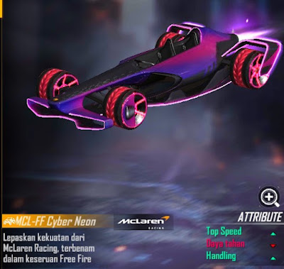 skin MCL-FF Cyber Neon