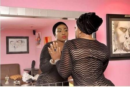 So Intoxicating: Nollywood Actress, Anita Joseph Flaunts Huge Backside in See-through Outfit (Photos)