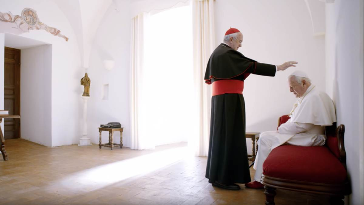 review THE TWO POPES