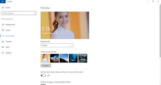 Cách thiết lập chế độ slideshow tại màn hình khóa Windows 10