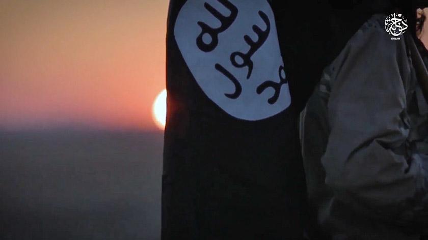 Скріншот з відео «Ісламської держави».