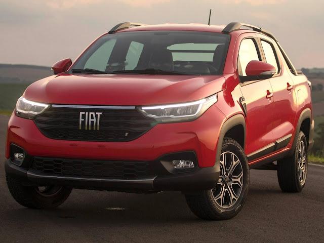Nova Fiat Strada 2021 - 4º carro mais vendido do Brasil