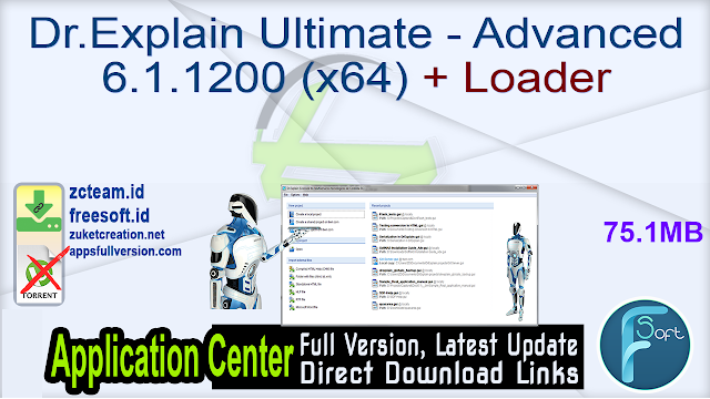 Dr.Explain Ultimate – Advanced 6.1.1200 (x64) + Loader _ ZcTeam.id