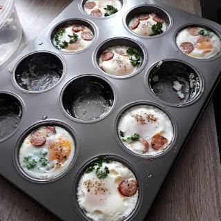 jajko pieczone w foremce