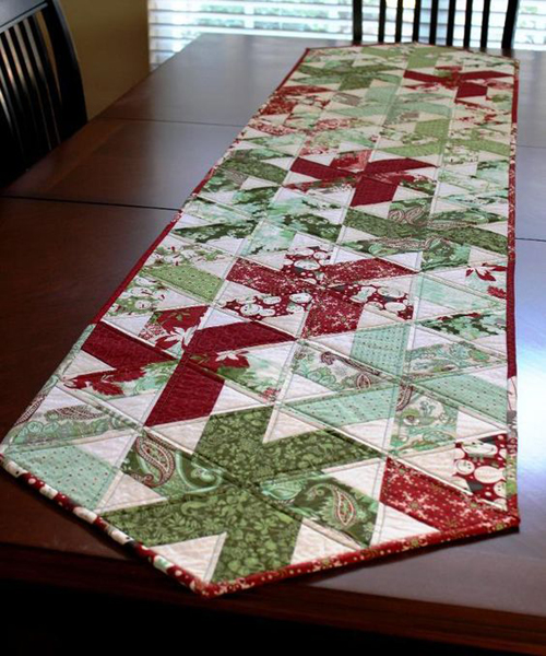 Peppermint Table Runner - Tutorial