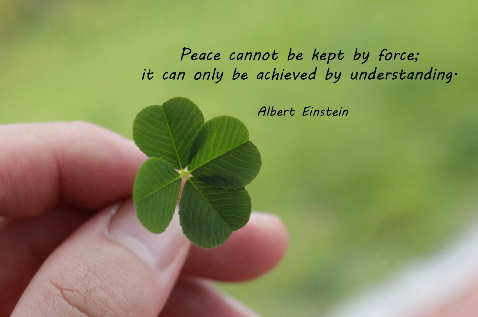 Let's Have a Tryst With Peace 1