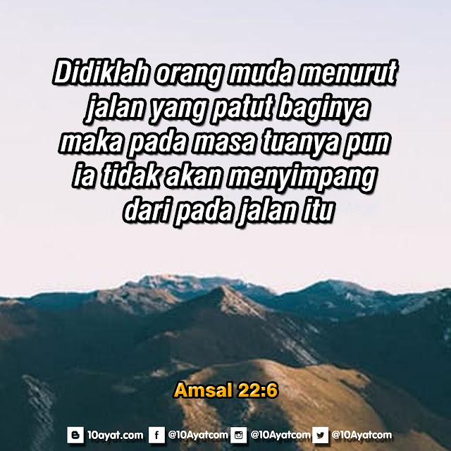 Amsal 22:6