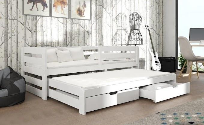 Детская кровать Кетти ( с доп. спальным местом) 80х190  ТМ MegaOpt