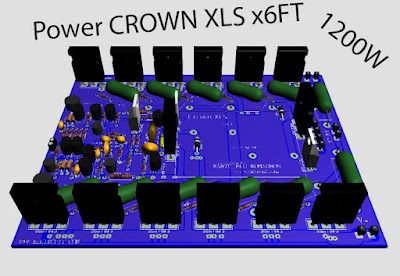 Crown Power Amplifier circuit
