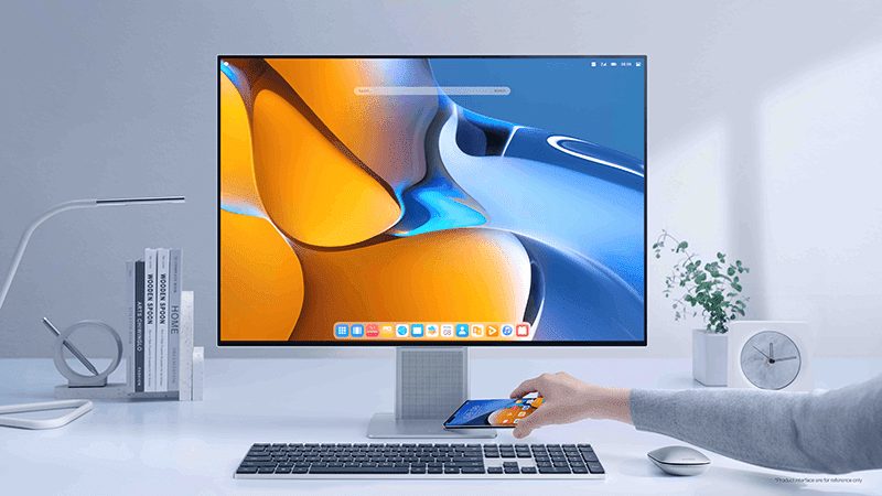 The Huawei MateView is a flagship desktop monito