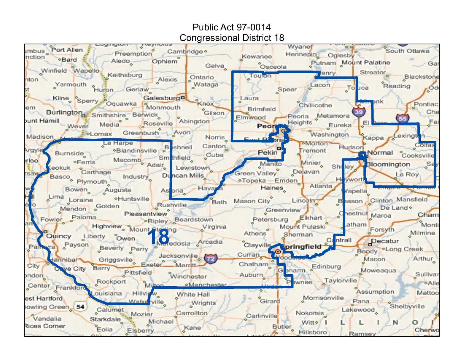 Will County Politics Maps Of Illinois Congressional Districts 2014