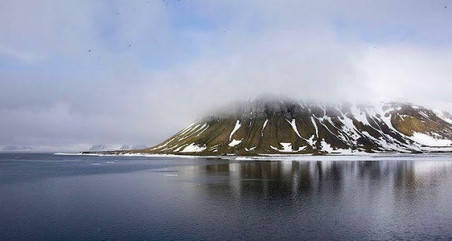 The melting of the Arctic revealed 5 new islands that we did not know before ...