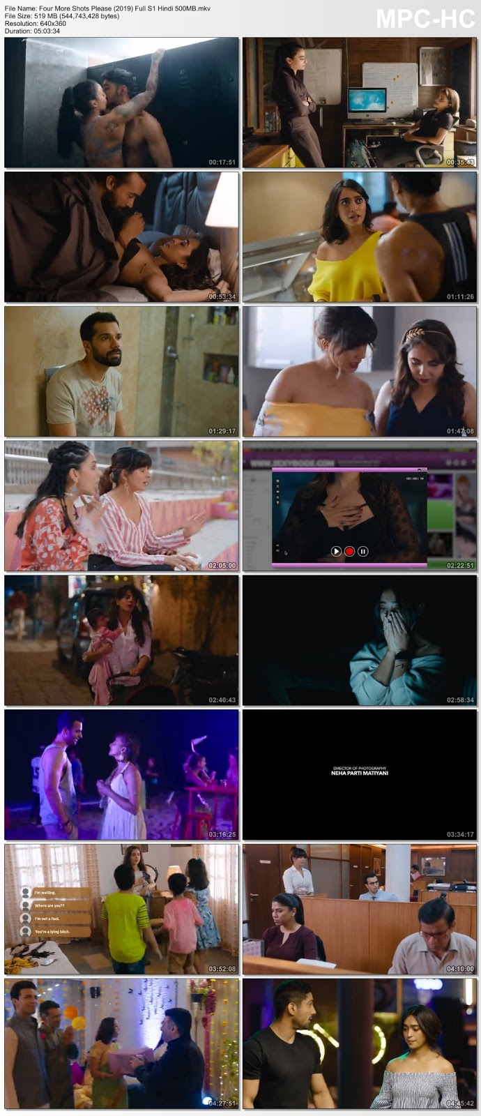 Four More Shots Please (2019) Hindi 360p HDRip Complete S1 – 500MB Desirehub
