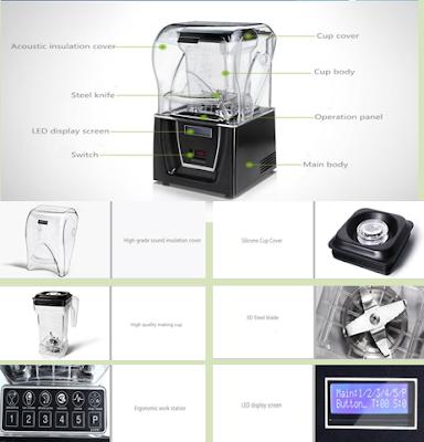 Chuyên Máy xay sinh tố công nghiệp Hummer - Hotline: 0902789161 - 08 38120217