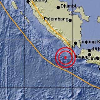 Gempa 5.0 SR Dirasakan di Tanggamus Tidak Berpotensi Tsunami, Berikut Penjelasan BMKG