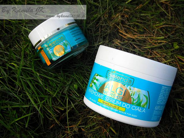 Bielenda Algi morskie lekki krem odżywczy do twarzy serum nawilżające do ciała