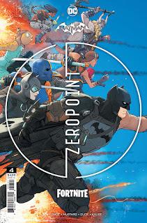 Batman/Fortnite: Zero Point #4 - Cover