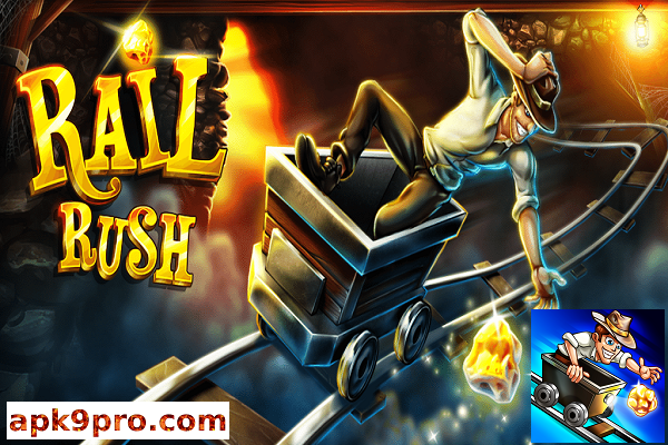 Rail Rush v1.9.18 Apk + Mod (File size 48 MB) for Android