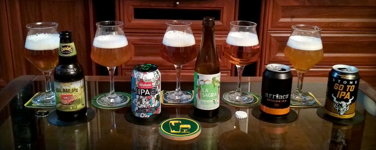 Vs. Cata comparativa de Cervezas Session IPA