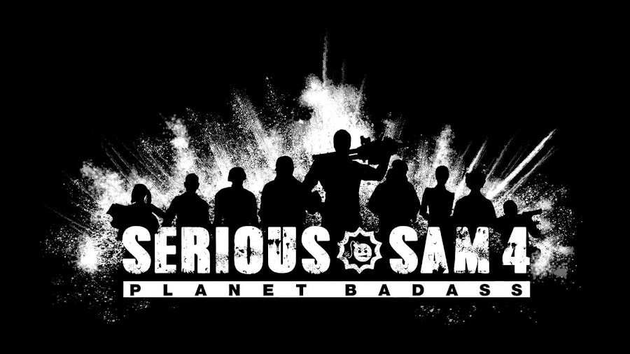 serious sam 4 planet badass logo teaser trailer croteam devolver digital  first-person action shooter series