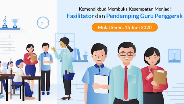 Syarat dan Jadwal Pendaftaran Fasilitator dan Pendamping Guru Penggerak