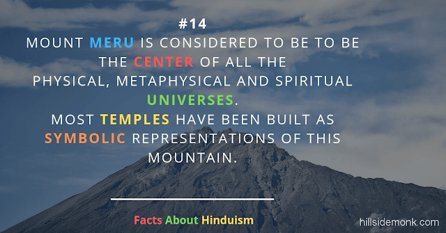 Fact About Hinduism 14 MOUNT MERU KAILSAH