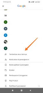 Cara menambah akun Gmail di HP android, Login Gmail, akun Gmail