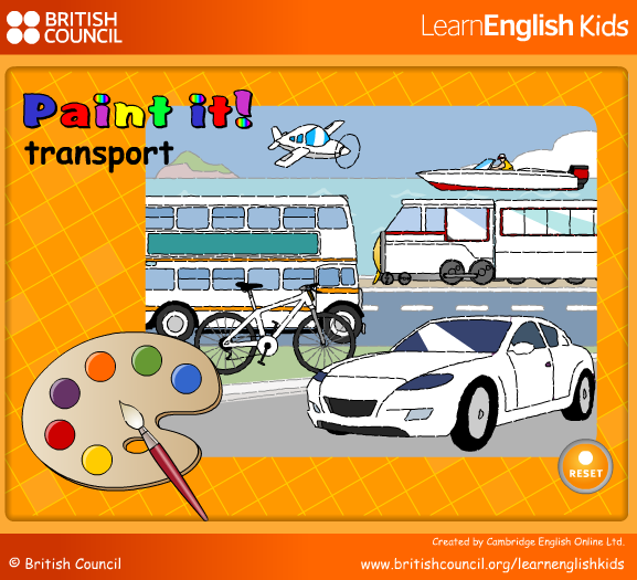 http://learnenglishkids.britishcouncil.org/es/word-games/paint-it/transport