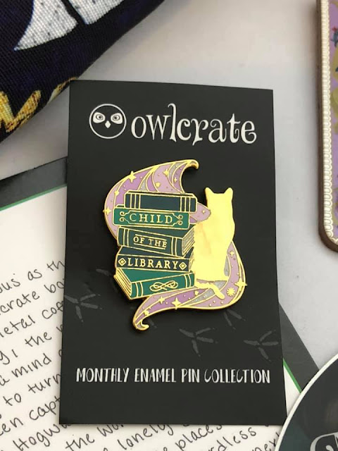 #owlcrateexclusivepin #bookish