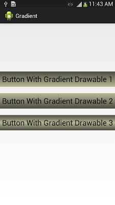 Gradient Drawable