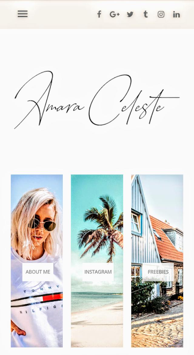 Why I Finally Choose Amara Fashion & Travel Template