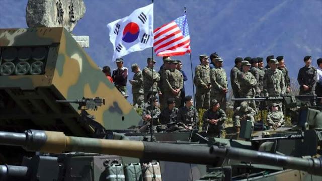 Pyongyang: EEUU busca alentar la tensión militar con sus maniobras
