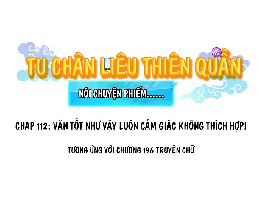 Tu Chân Nói Chuyện Phiếm Quần Chapter 112 video - Hamtruyen.vn