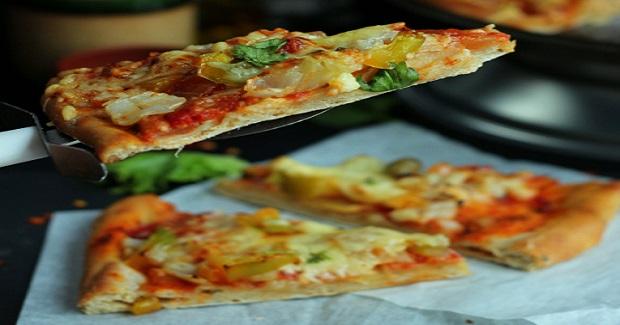 Thin Crust Pizza (Yeast Free) Recipe
