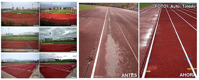 Pista atletismo Toledo