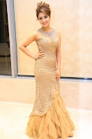 Muskan Sethi in a Gorgeous Sleeveless Glittering Gown at Paisa Vasool audio success meet ~  Exclusive Celebrities Galleries 043.JPG