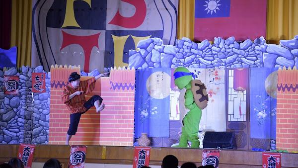 彰化囝仔好幸福 海波兒童劇團到福興國中演出