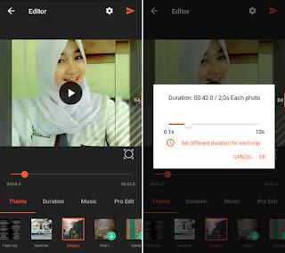 Cara Mudah Membuat Video Slideshow dari Foto Foto di Android