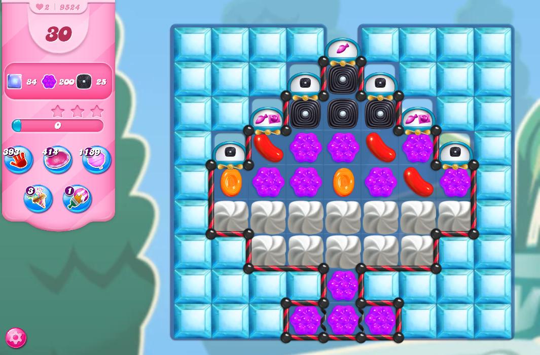 Candy Crush Saga level 9674